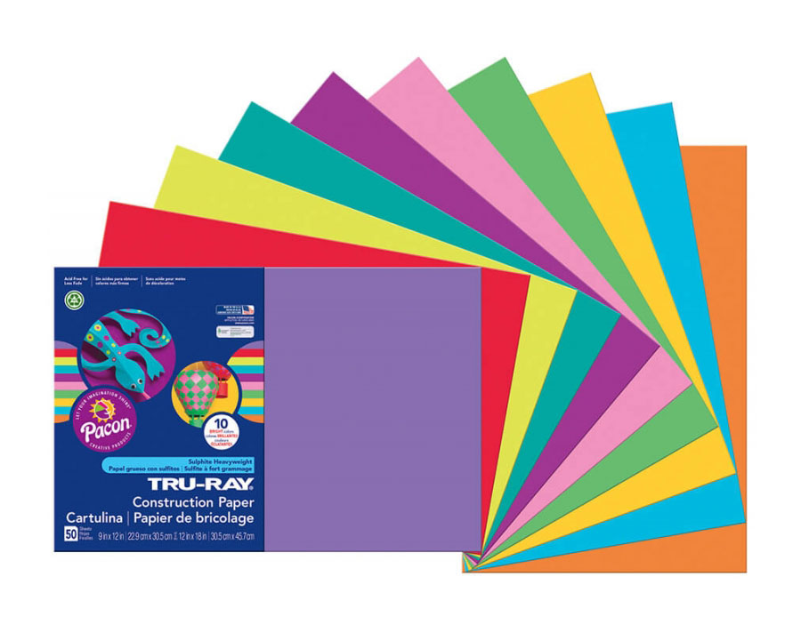 "<h1 style=""text-align: center;"">Tru-Ray<sup>®</sup> Construction Paper in Assorted Bright Colors</h1>"