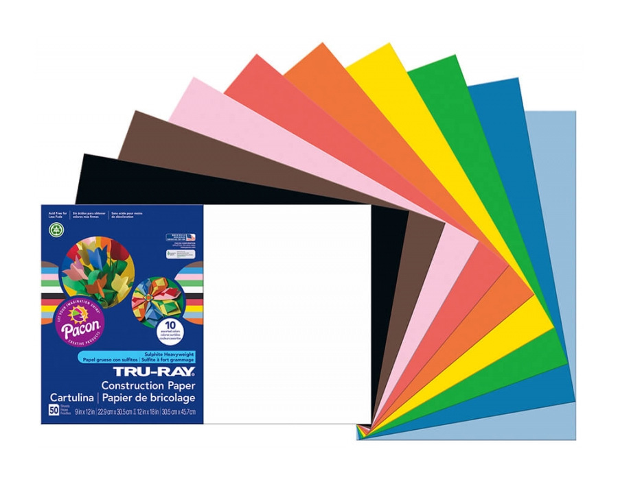 "<h1 style=""text-align: center;"">Tru-Ray<sup>®</sup> Construction Paper in Assorted Standard Colors</h1>"