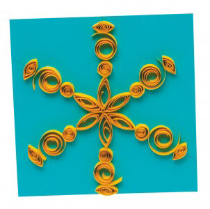 Quilled Paper Art – Sun Project